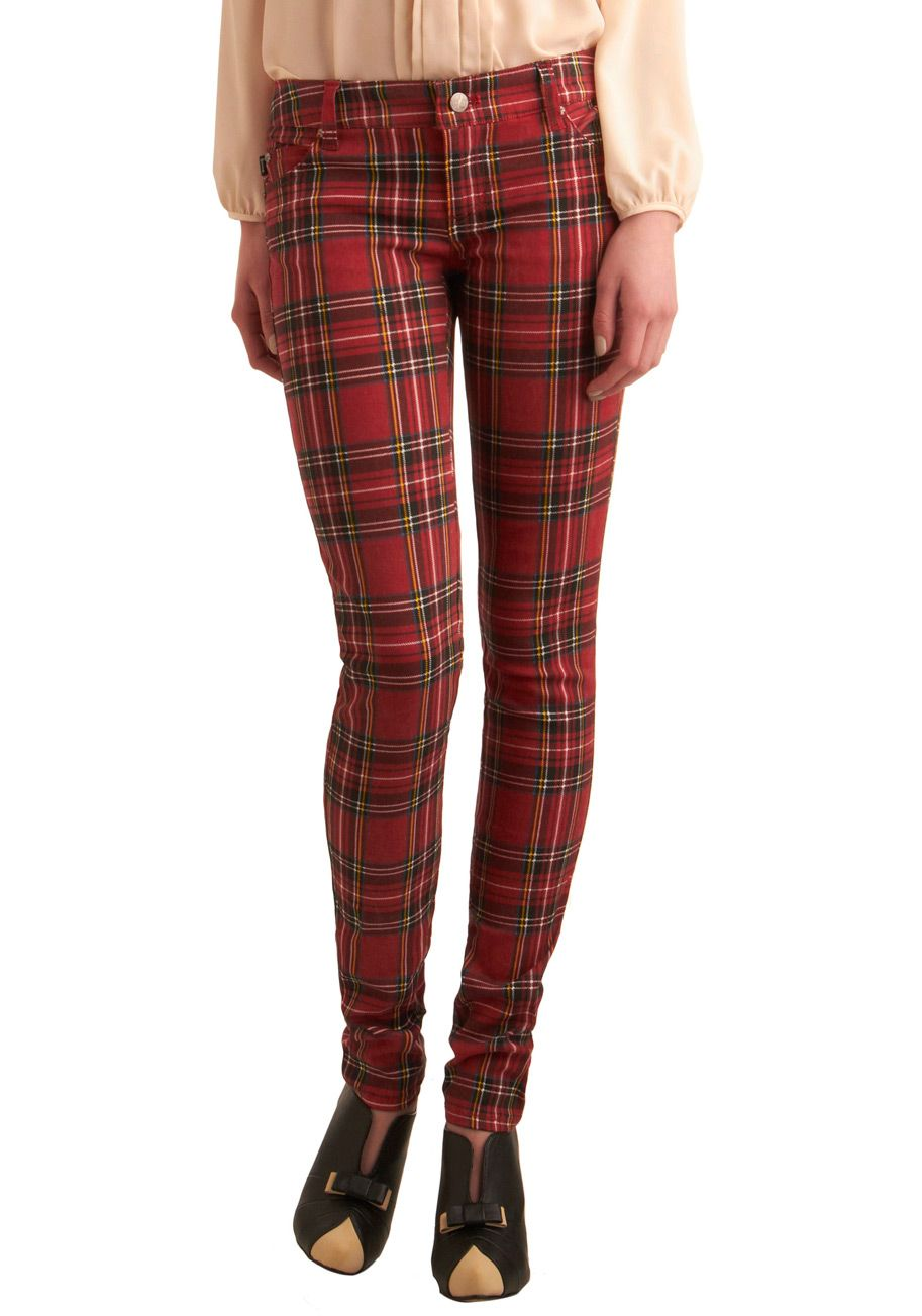 Plaid Skinny Jeans Womens Photo Album - Fashion Trends and Models