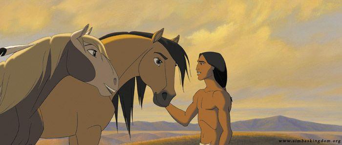 Best cartoon horse movie...