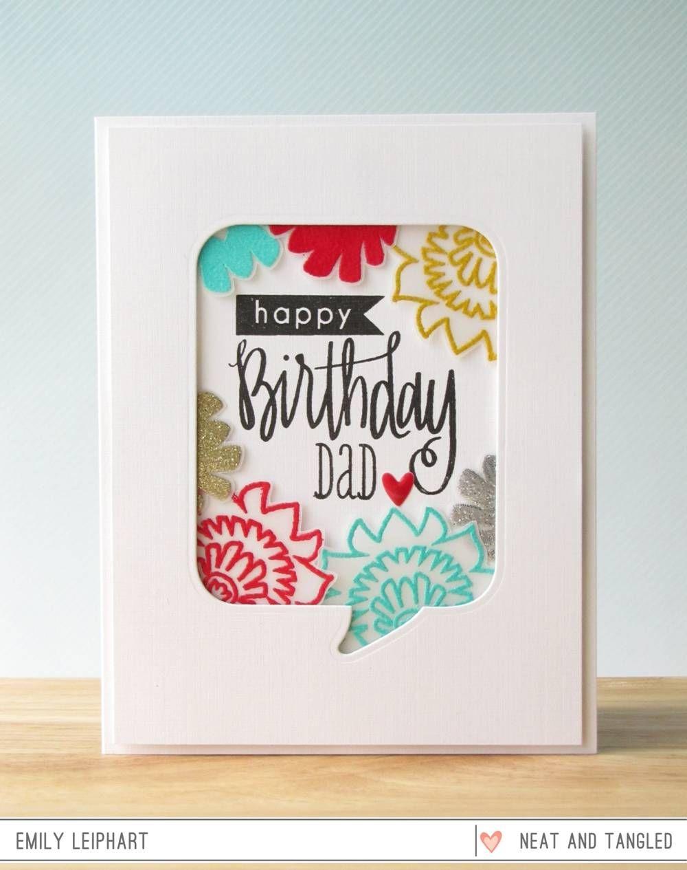 Pin On Paper Cut Flowers Birthday Tags Dies