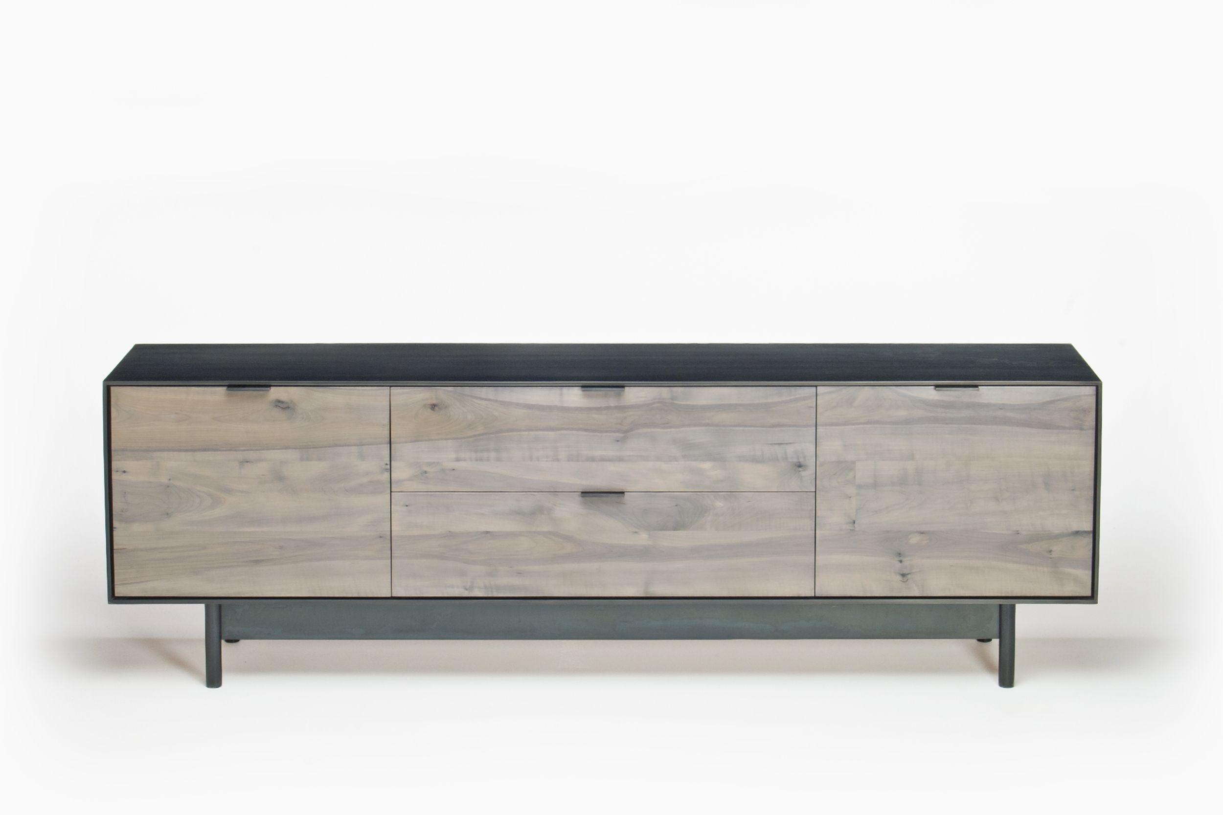 Steel Specialty Stain Low Credenza Con Imagenes Muebles Para Tv