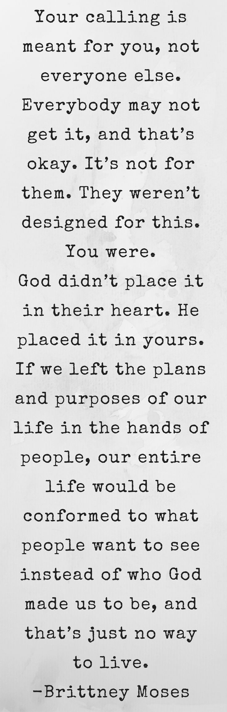 Christian Inspirational Quotes When Insecurity Gets In The Way Of Your Purpose  Insecurity