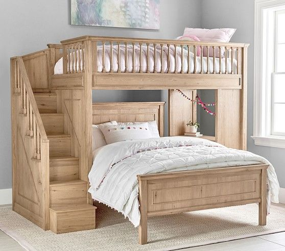 Fillmore Stair Loft Bed & Lower Bed Set images