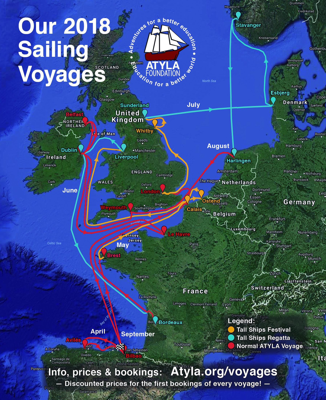 Sailing 2018 Tall Ships Races And Regatta Port Festivals European Capitals Adventure And More Sailing Trips Ostend Sailing