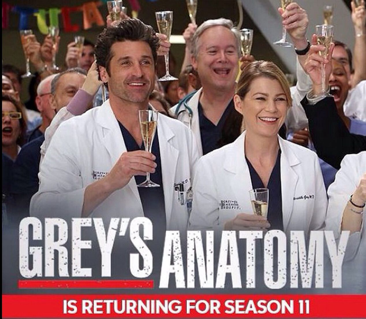 Ecstatic... Can\'t wait for it... | Grey\'s anatomy | Pinterest