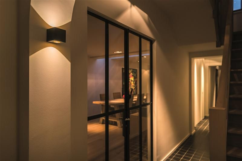 Subtle Hallway Up Down Lighting Idea With Blox By Tal Lighting Design Residential Interior