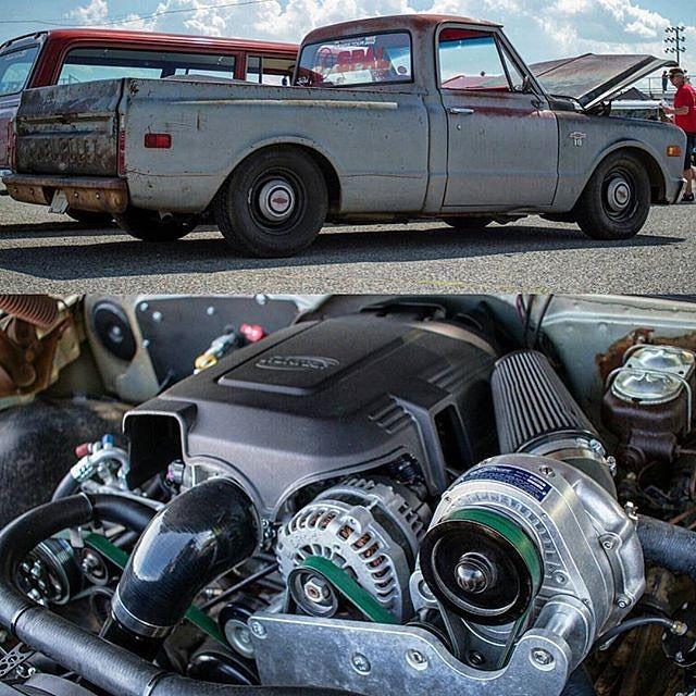 Chevy Diesel Blower: C10 Ls Swap Lq9 Lq4 L92 5.3L 6.0L 6.2L Truck Engine