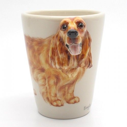 English Cocker Spaniel Mug 00001ceramic 3d Handmade Mug Gifts
