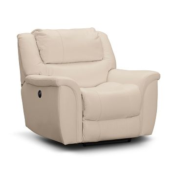 Peachy Aquarius Leather Power Recliner Value City Furniture Cjindustries Chair Design For Home Cjindustriesco