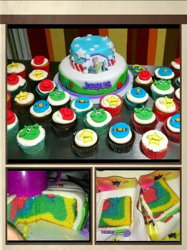 Toy story cake & cupcakes