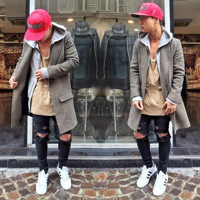 Street Wear Stylish Stunts Pinterest Street Wear Male Style And Man Outfit