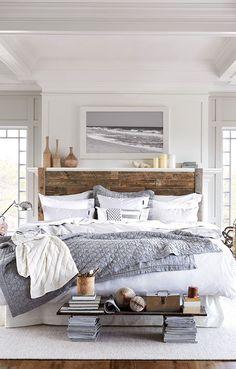 Une chambre douillette à souhaite #maison #habitation via Coastal ...