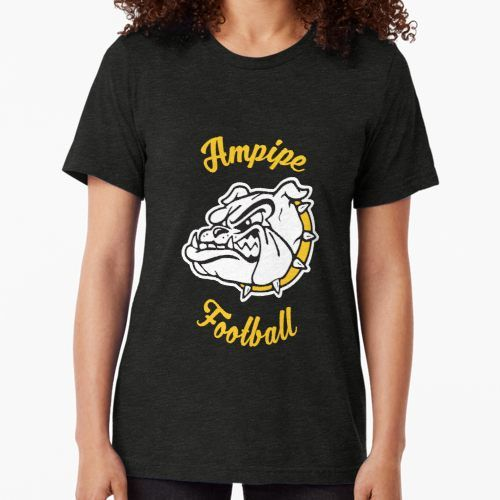 'Ampipe High School Bulldogs Mascot Football Team' Tri