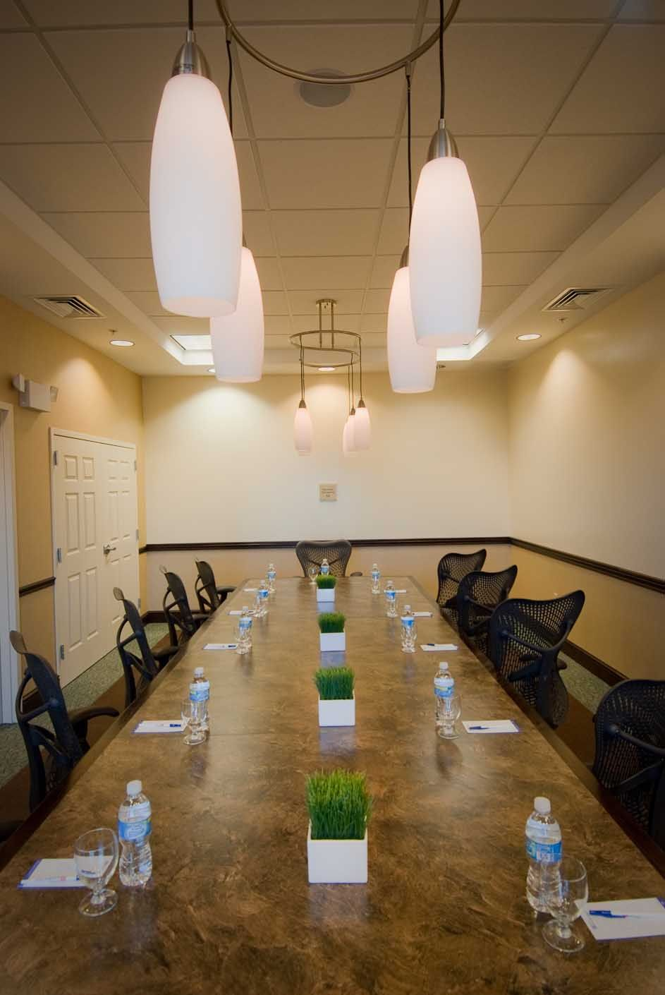 For smaller meetings, our board room provides all the amenities and ...