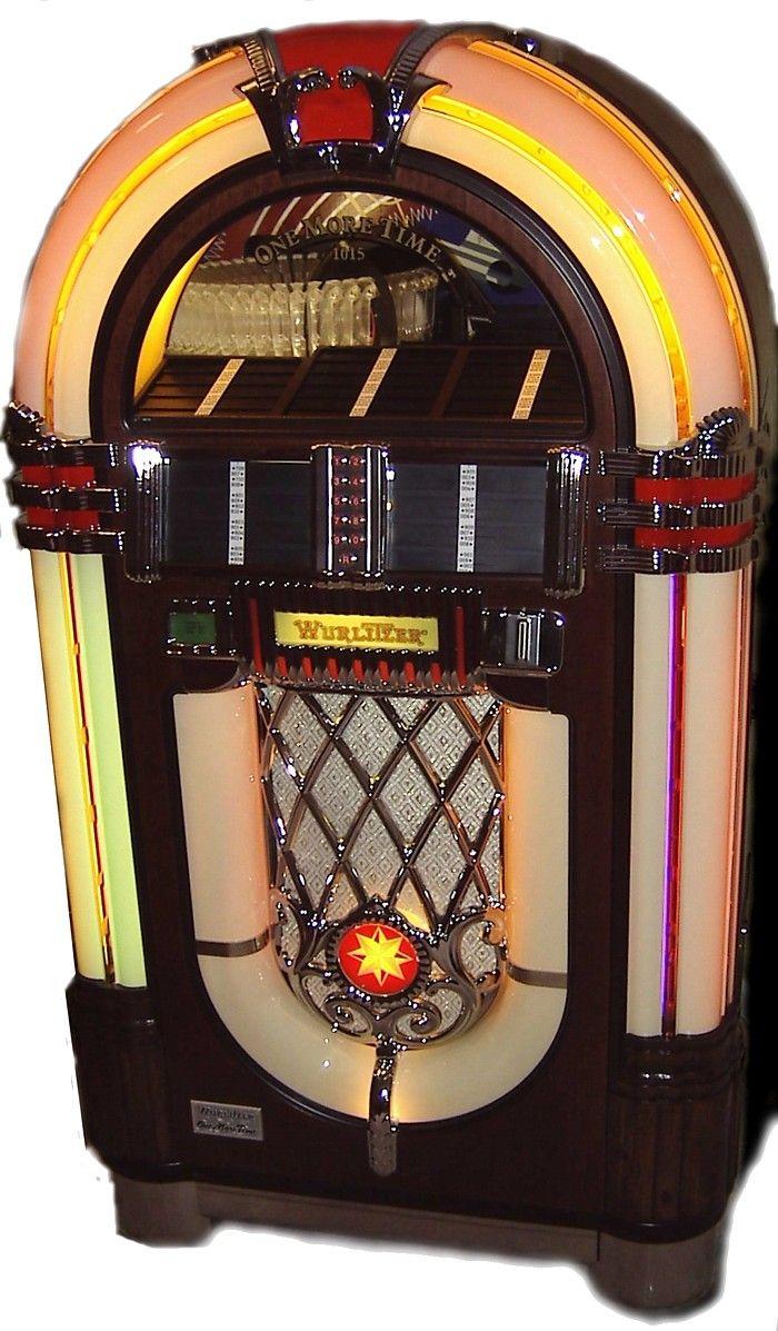 vintage Wurlitzer jutebox   Jukebox, Jukeboxes, Retro diner