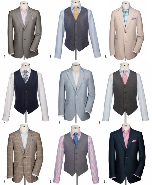 Grooms Summer Suits - Take Your Pick!