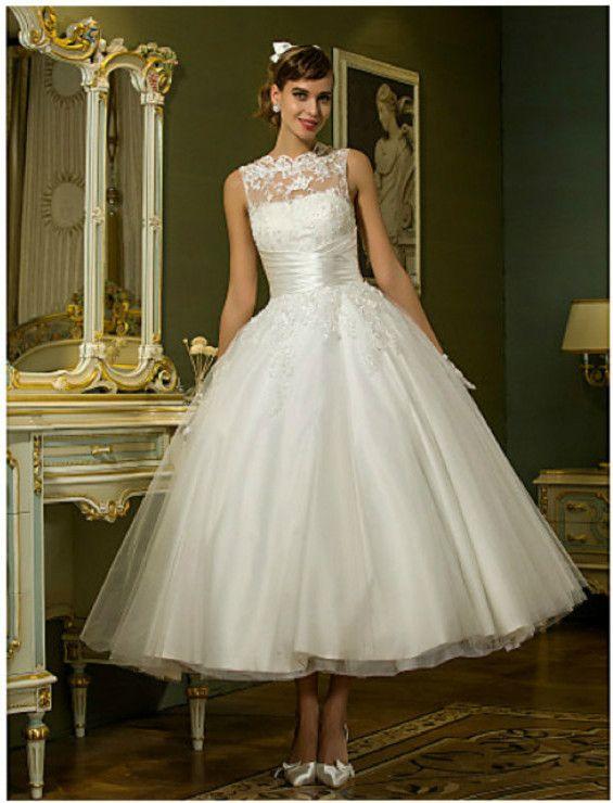 21 Best Tea Length Wedding Dresses