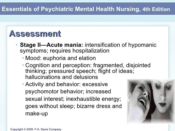 Mood Disorders Mental Health Nursing Chapter  Part Ii  Nursing