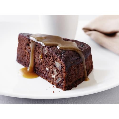 Sticky chocolate date cake recipe - By Australian Women's Weekly, Delicious and easy recipe for a sticky chocolate date cake. Best served warm with lashings of double cream or ice-cream. Or both!