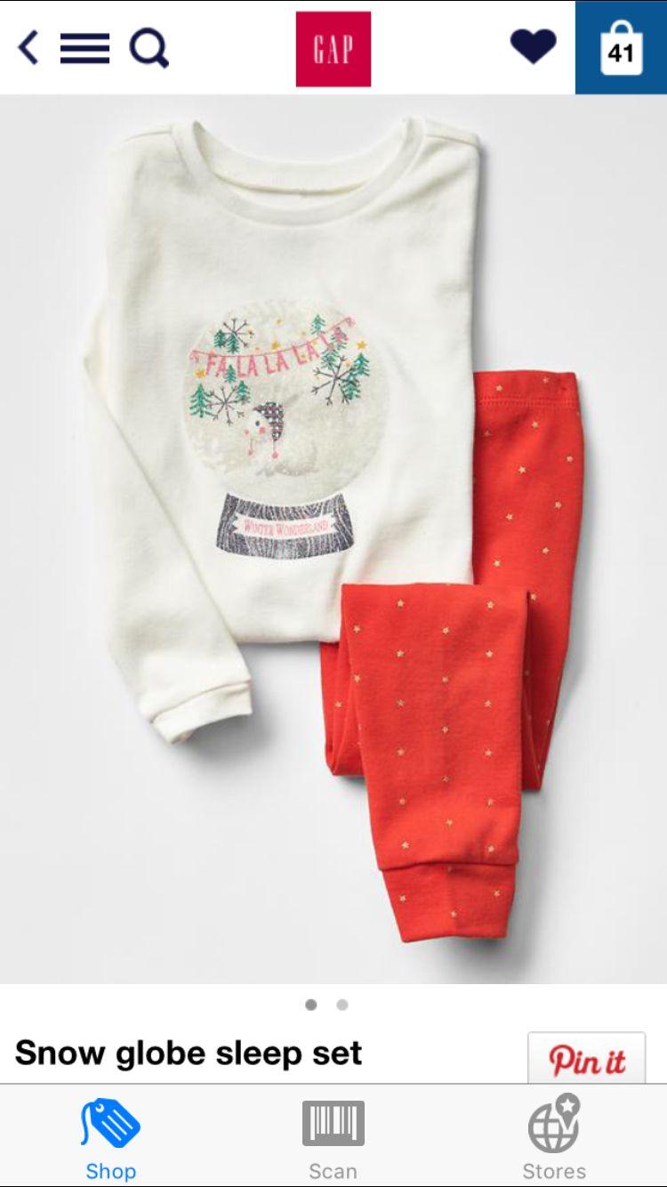 baby gap christmas pajamas for next year