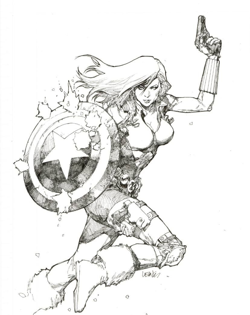 black widow by leinil francis yu black widow pinterest black widow comic and marvel