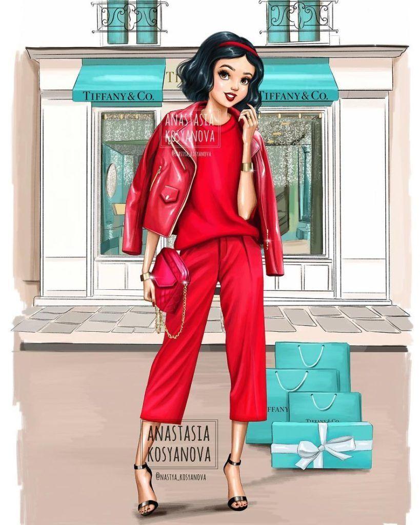 When Disney princesses go shopping by Anastasia Kosyanova Dessein de ... -  When Disney princesses go shopping by Anastasia Kosyanova Drawing drawing  - #Anastasia #artabstracto #artacuarela #artdibujos #artdiy #artoscuro #artprints #artreference #artvideos #bodyart #cartoonart #characterart #collageart #conceptart #contemporaryart #Dessein #disney #disneyart #famousart #flowerart #Kosyanova #lineart #mixedmediaart #natureart #pencilart #popart #princesses #shopping #simpleart #vintageart