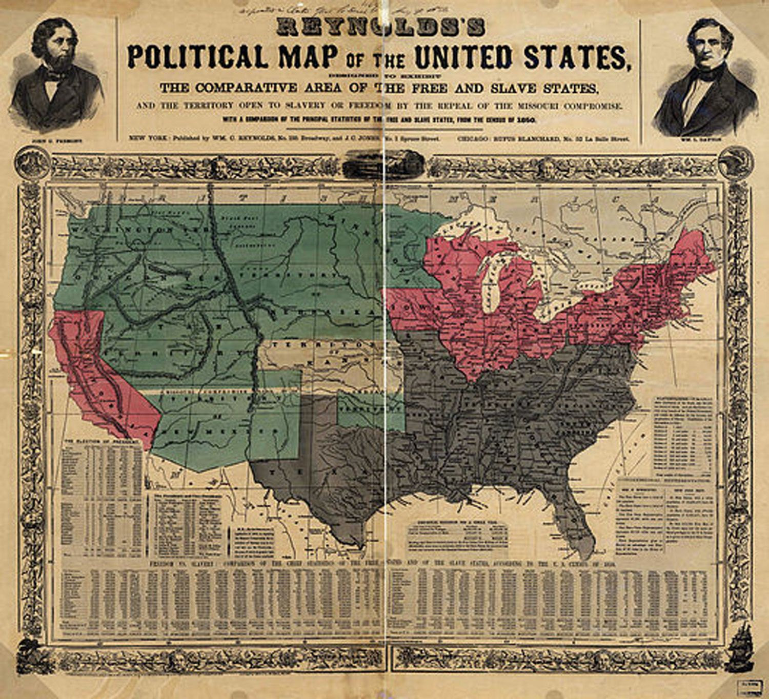 Geographical Trivia Fun Facts AllAmerican Trivia - Missouri compromise interactive map