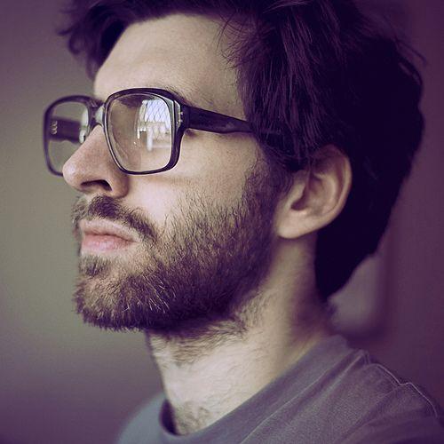 beard + glasses