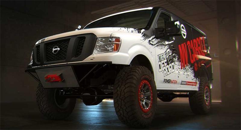 Nissan NV Cargo X Concept - больше, чем просто грузовой фургон