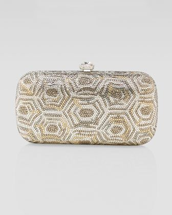cb6c278dba72 Honeycomb-Crystal Minaudiere by Judith Leiber at Neiman Marcus ...