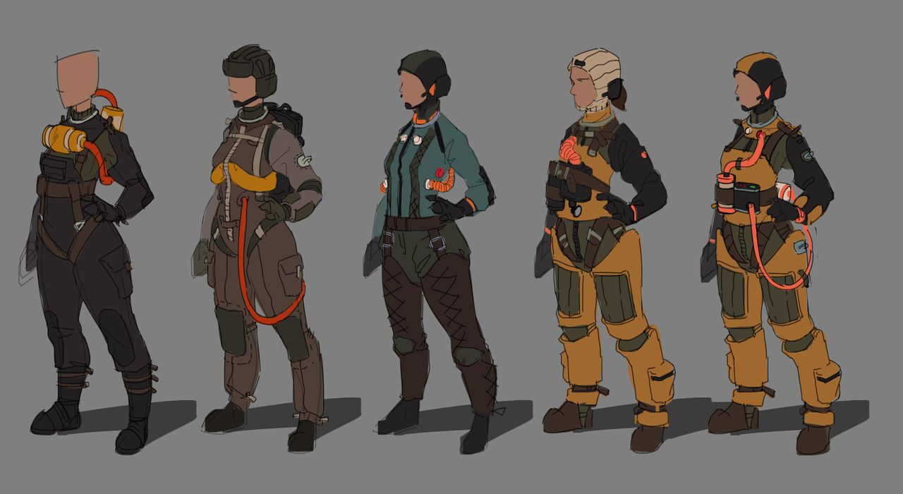 ArtStation - Ryan Andrade's submission on The Journey - 2D Character Art Challenge