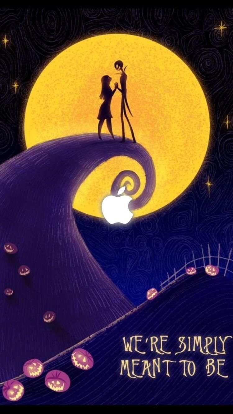 It S Halloween Wallpaper For Iphone Nightmare Before Christmas Wallpaper Nightmare Before Christmas Disney Valentines