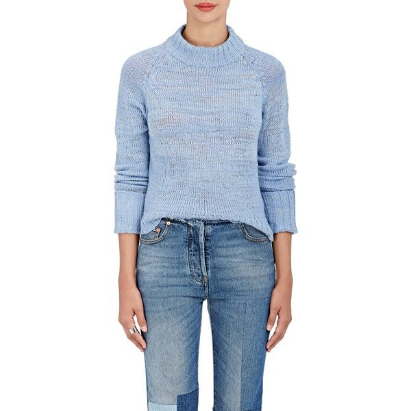 The Elder Statesman Women's Mock-Turtleneck Cashmere Sweater ...