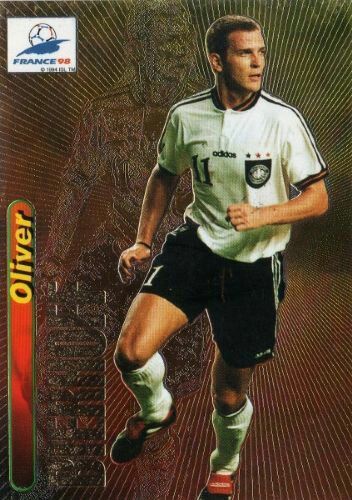 Oliver Bierhoff Of Germany 1998 World Cup Finals Card Germany Football 1998 World Cup World Cup Final