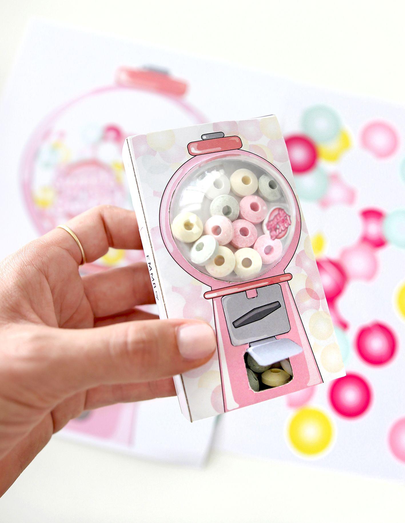 DIY für Kinder: Kaugummiautomat aus Streichholzschachteln #adventskranzideenkinder