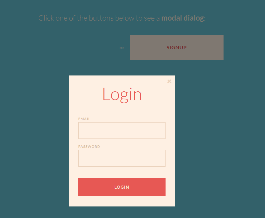 This is a creative animated signup/login box  Here used HTML