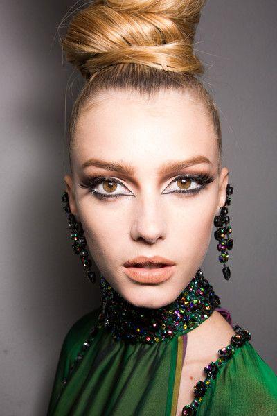Jean Paul Gaultier Couture Fall 2013 beauty sigrid agren