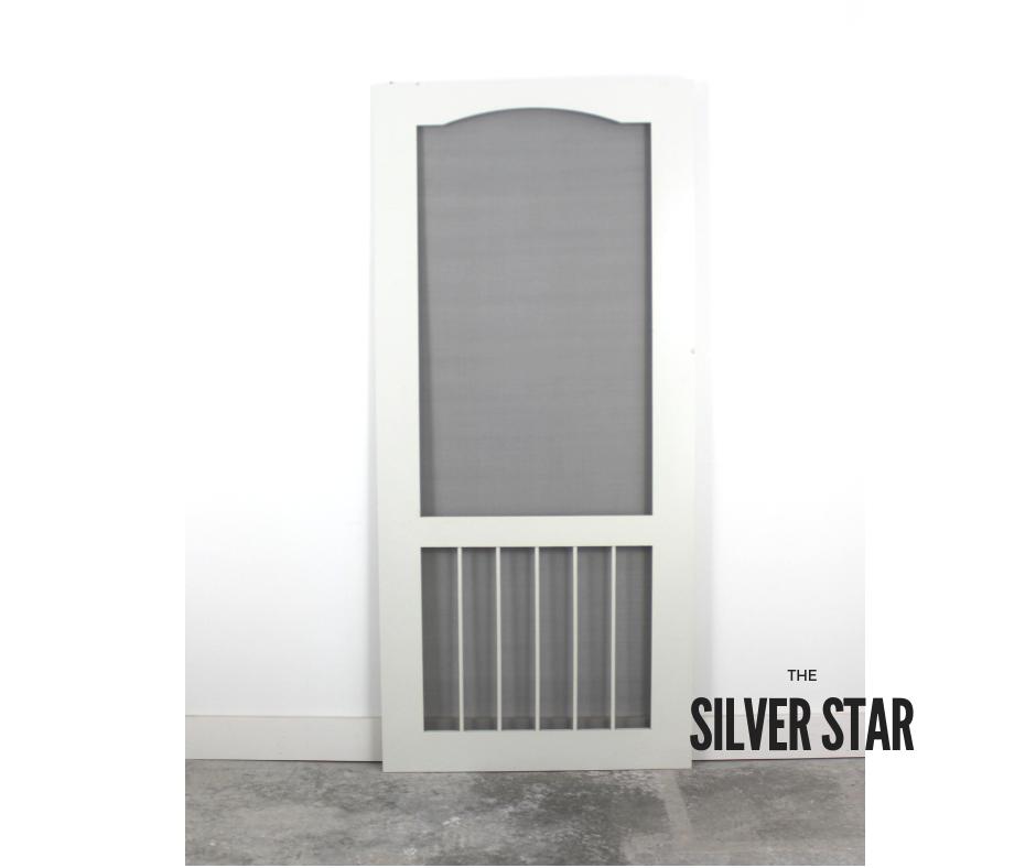 The Silver Star Superior Screen Doors Custom Screen Doors Screen Door Diy Screen Door