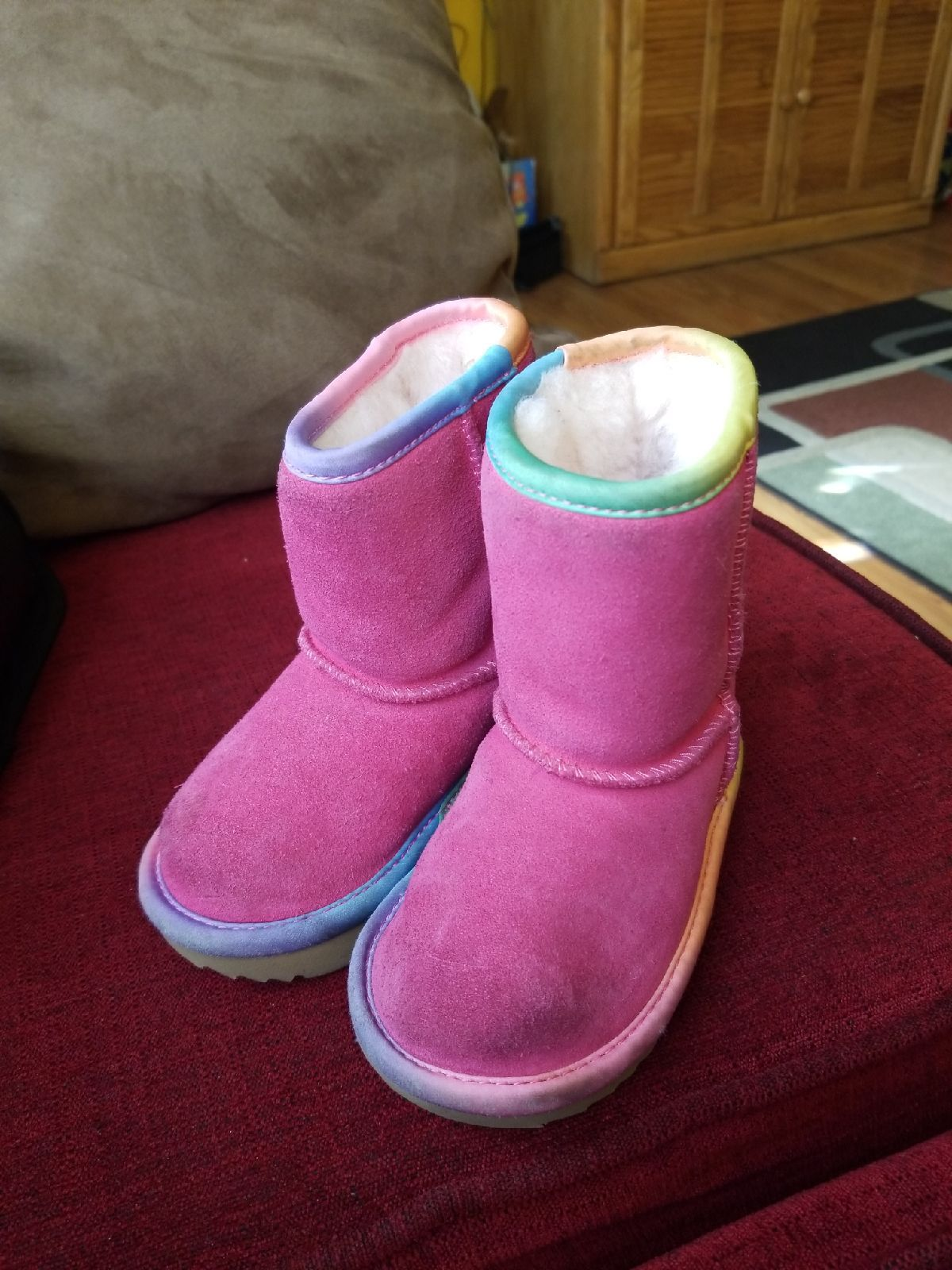 Color: Pink Azalea. Outsole: Treadlite