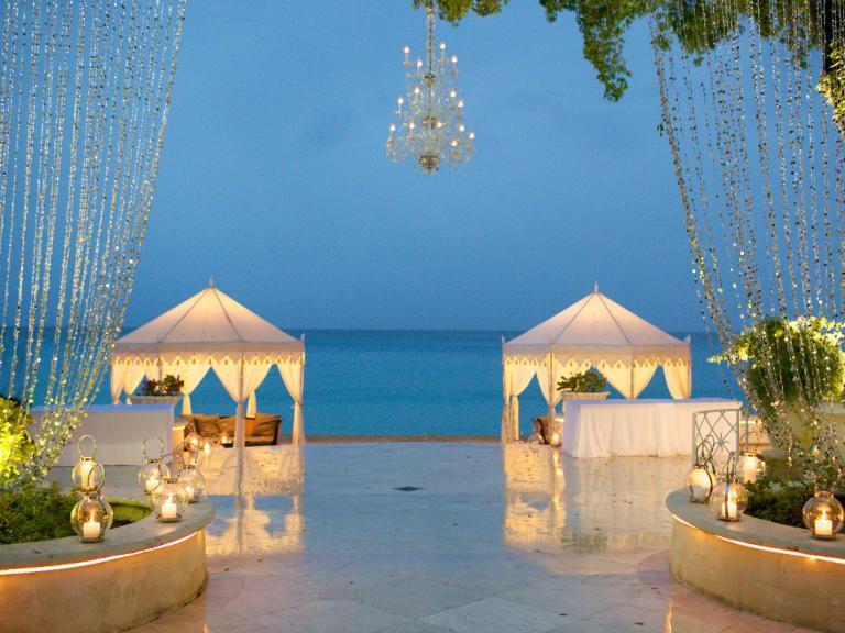Our Favorite One Of A Kind Destination Wedding Details Theknot Sandy Lane Resort Barbados