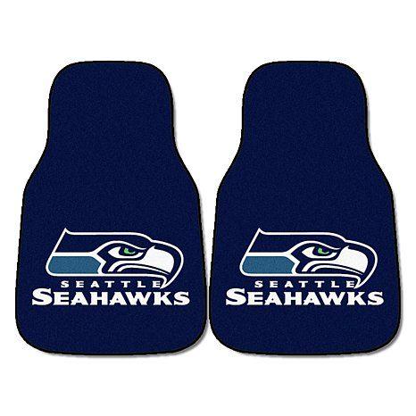 Seattle Seahawks Car Mats 2pc Seattle Seahawks Nfl