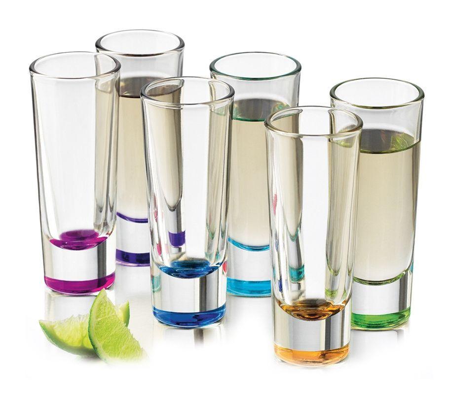6 vasos para licor pengo njoy ○ juego de 6 vasos para licor