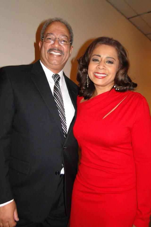 Talk about a power couple Congressman Fattah and his beloved Mrs - fresh genetic blueprint band
