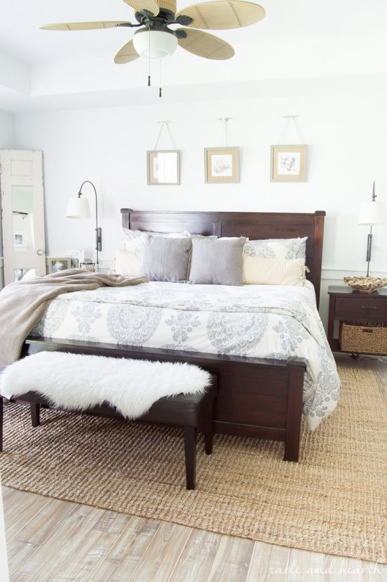 Beautiful Coastal Farmhouse Tour Weathered Finishes Diy Touches And Neutral Colors Make This