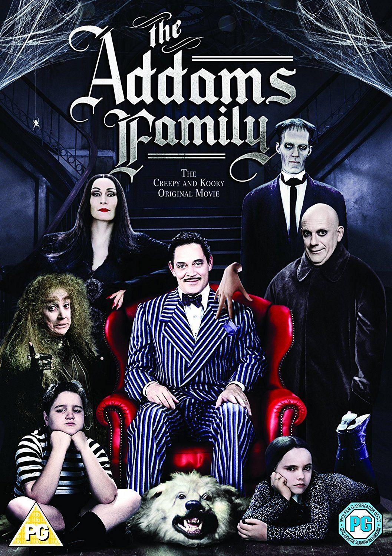The Addams Family 1991 Addams Family Movie Family Movies Best Kids Halloween Movies