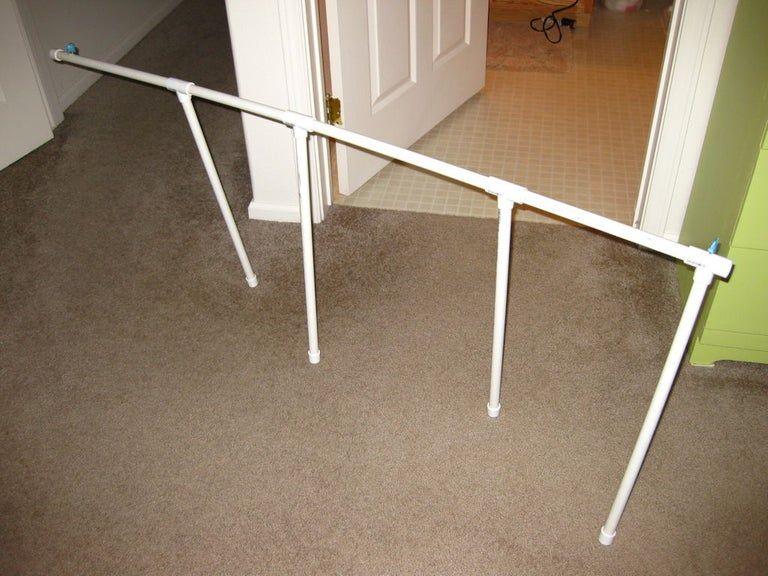 PVC Door Hinge Towel Rack | Pvc door, Pvc towel rack, Diy ...