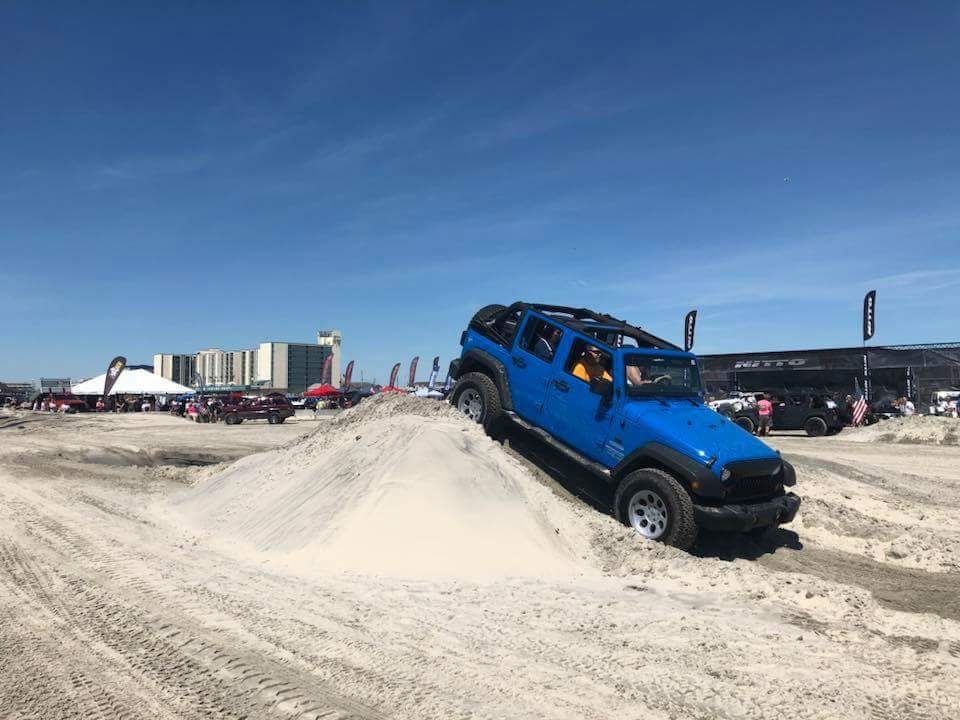 New Jersey Jeep Invasion 2k18 Wildwood Jeeps On The Beach Jeep