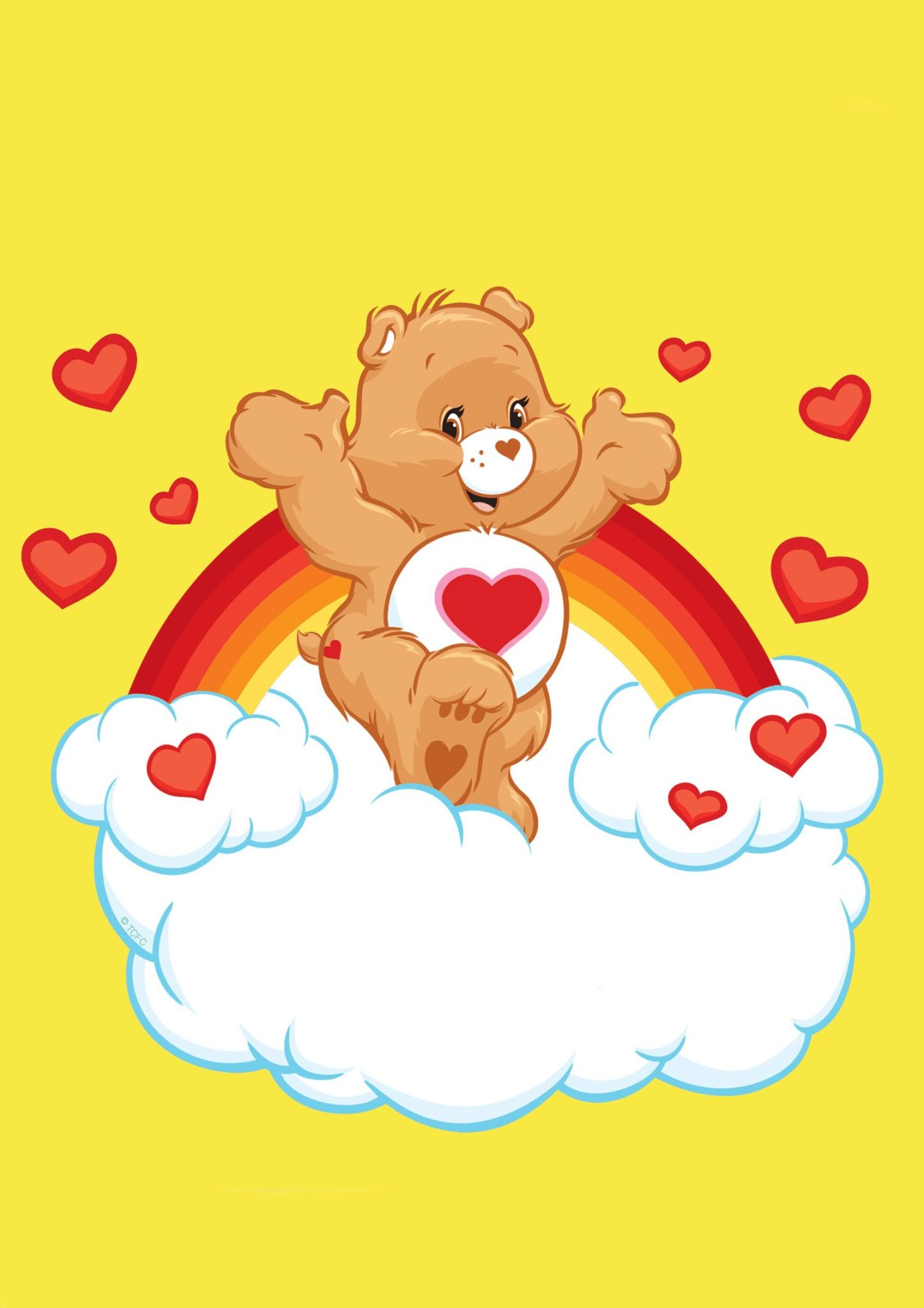Care Bears, Care Bear Tattoos, Care Bear Heart