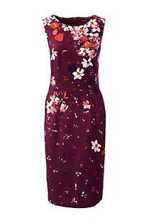 Women's Ponté Sheath Dress from Lands' End