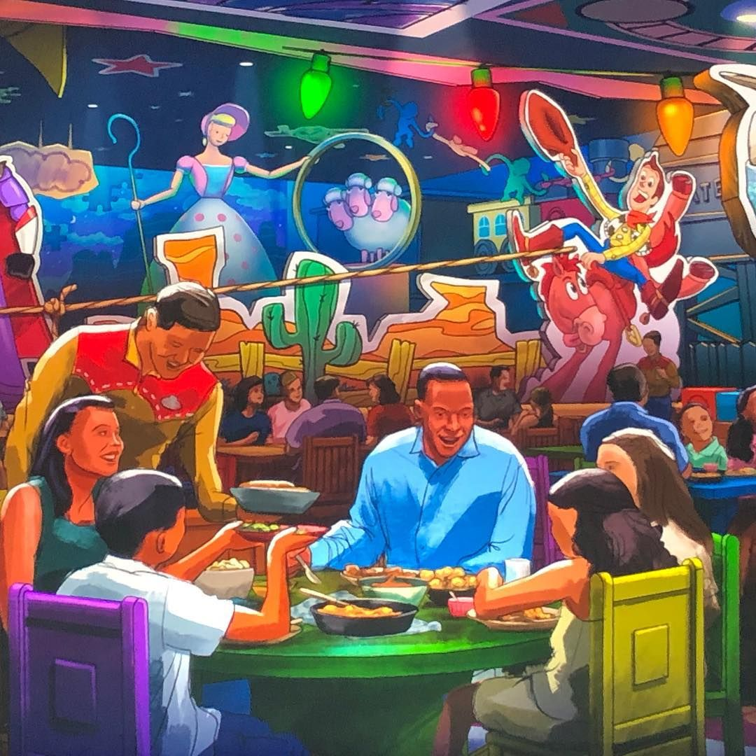 "Disney Food Blog on Instagram: ""BREAKING NEWS � There's a new table service restaurant coming to #WaltDisneyWorld's Toy Story Land!!!!! Yessssssss"""