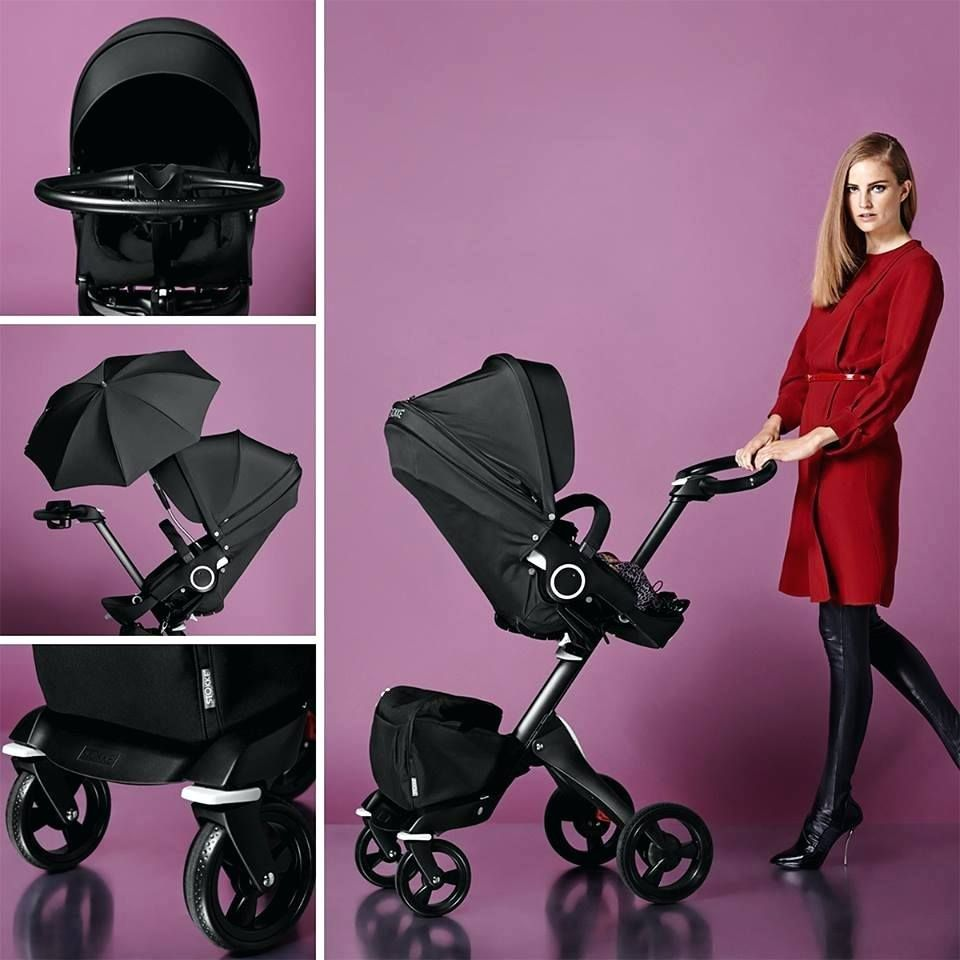 Trend Alert African Decor: Kleine Baby Kinderwagen Trend Alert All Black Stokke